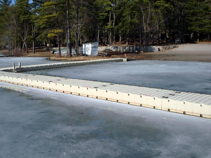 EZ Docks in the Ice