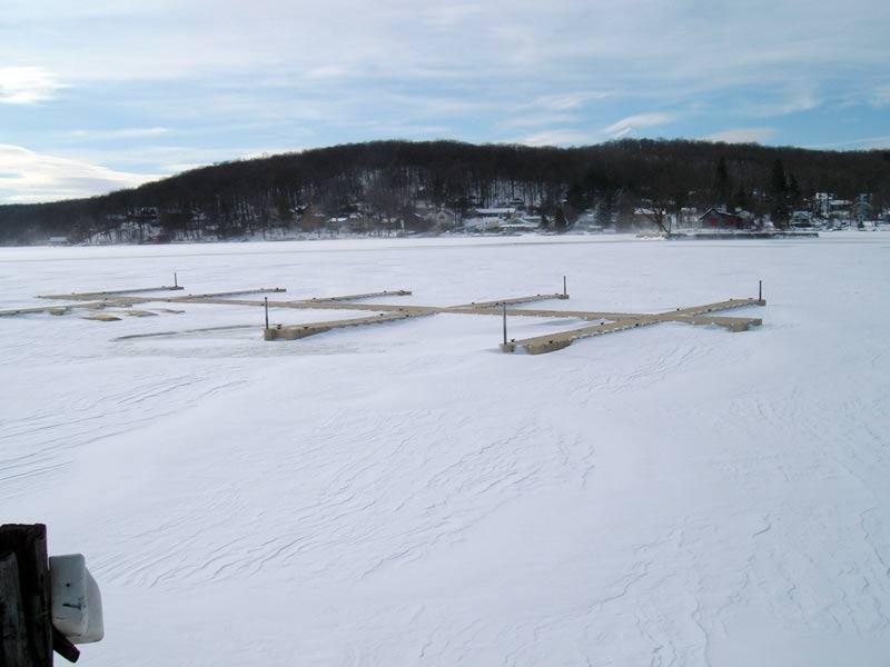 EZ Docks in the Ice & Snow